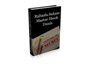 Front Hard Cover eBook Rahasia Sukses Ebook Dunia